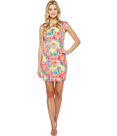 Tahari by ASL - Scuba Floral Sheath Dress