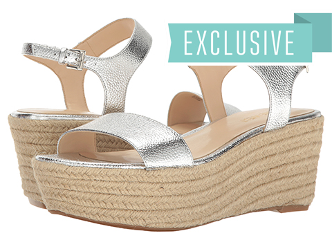 Nine West Flownder - Silver Metallic
