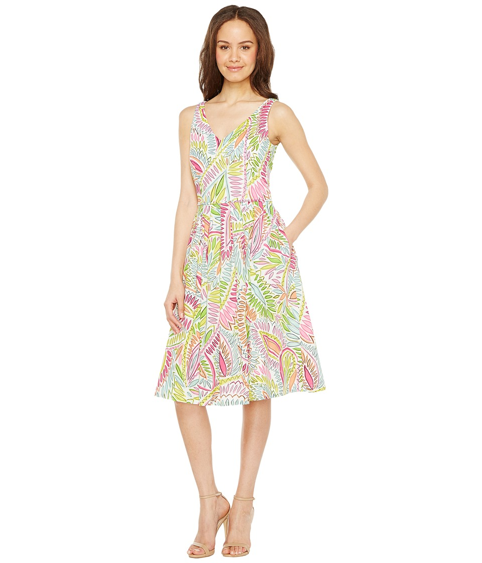 Tahari by ASL - Printed Cotton Sundress