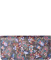 Marc Jacobs - Saffiano Garden Paisley Open Face Wallet