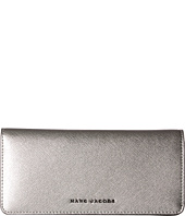Marc Jacobs - Saffiano Tricolor Metallic Open Face Wallet