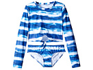 Seafolly Kids Riviera Belle Cropped Surf Set