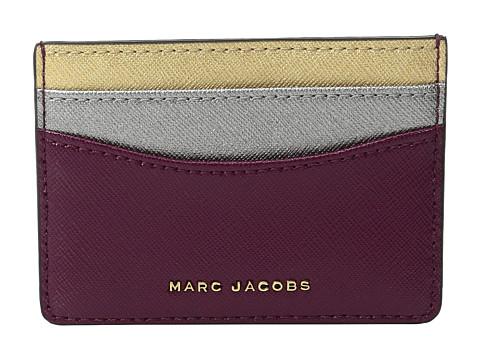 Marc Jacobs Saffiano Tricolor Card Case