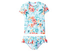 Seafolly Kids Luau Lu Lu Rashie Set (Toddler/Little Kids)