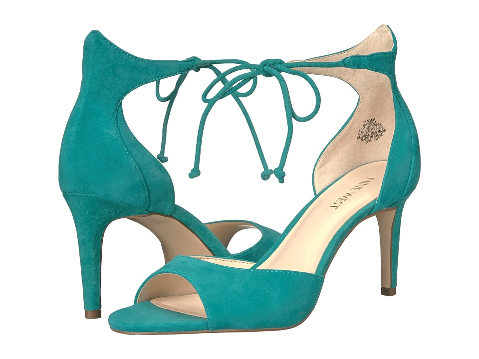 Nine West - Inesia (Dark Turquoise Suede) Womens Shoes