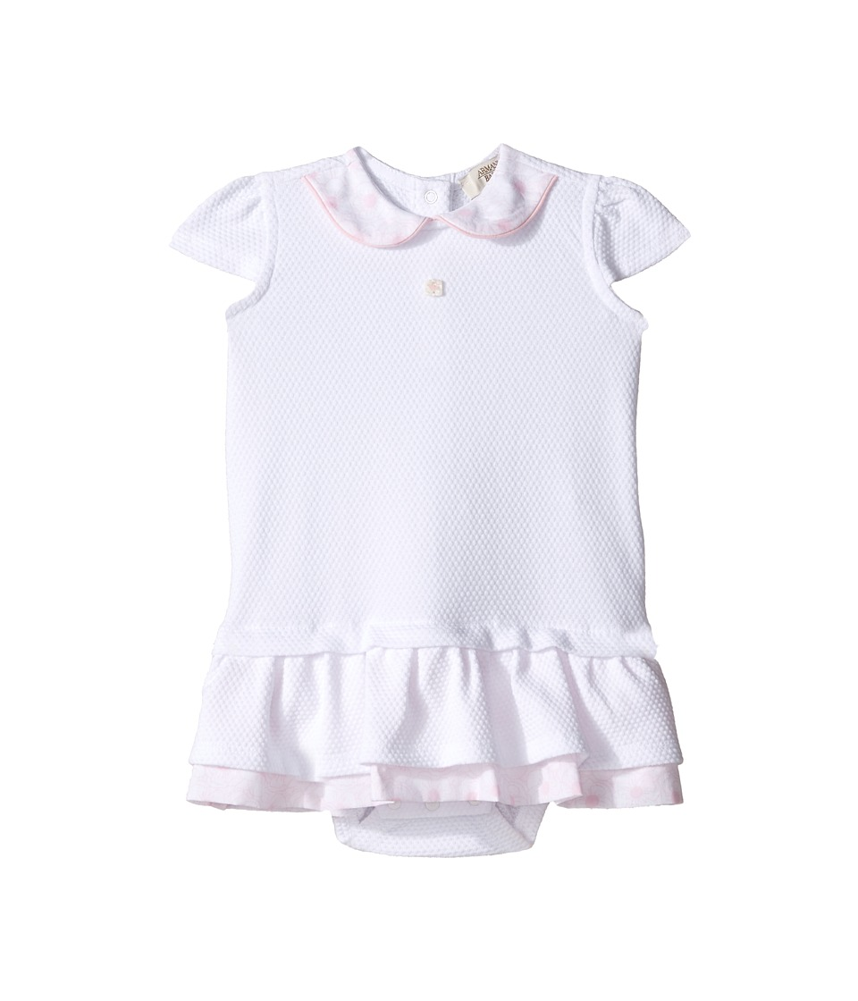 Armani Junior Armani Junior - Drop Waist Dress with Floral Collar