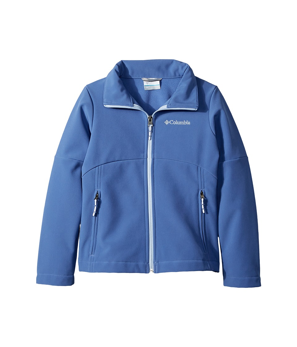 Columbia Kids Brookview Softshell Jacket (Little Kids/Big Kids) (Eve/Faded Sky) Girl