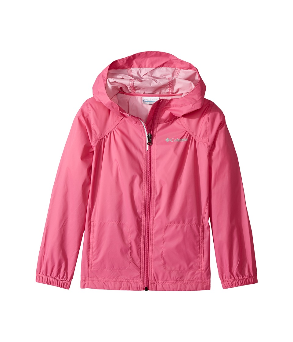 Columbia Kids Switchbacktm Rain Jacket (Little Kids/Big Kids) (Pink Ice) Girl
