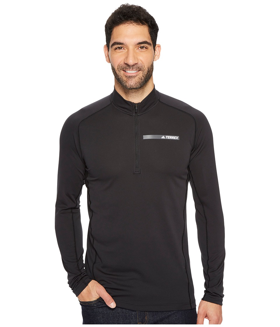 adidas Outdoor Terrex Tracerocker 1/2 Zip Top (Black) Men