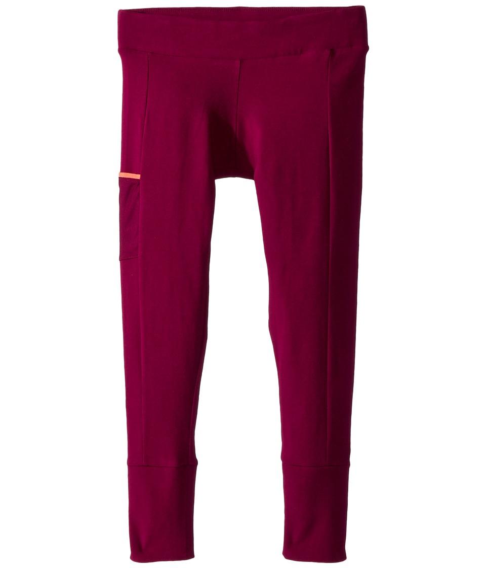 Columbia Kids - Lena Lake Leggings (Little Kid/Big Kid) (Dark Raspberry/Hot Coral) Girl's Casual Pants