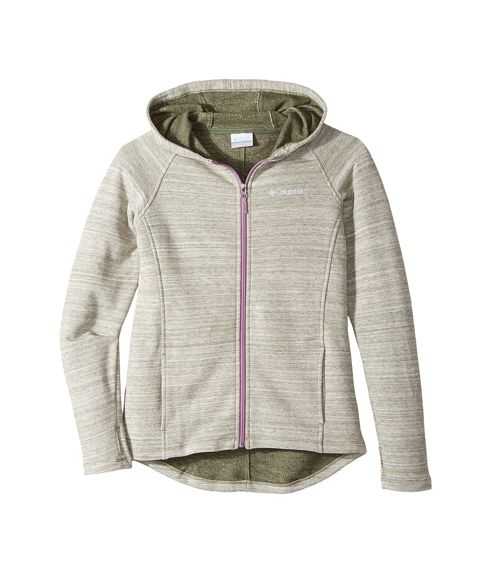 Columbia Kids - Athena Full Zip Hoodie (Little Kids/Big Kids) (Violet Haze) Girls Sweatshirt
