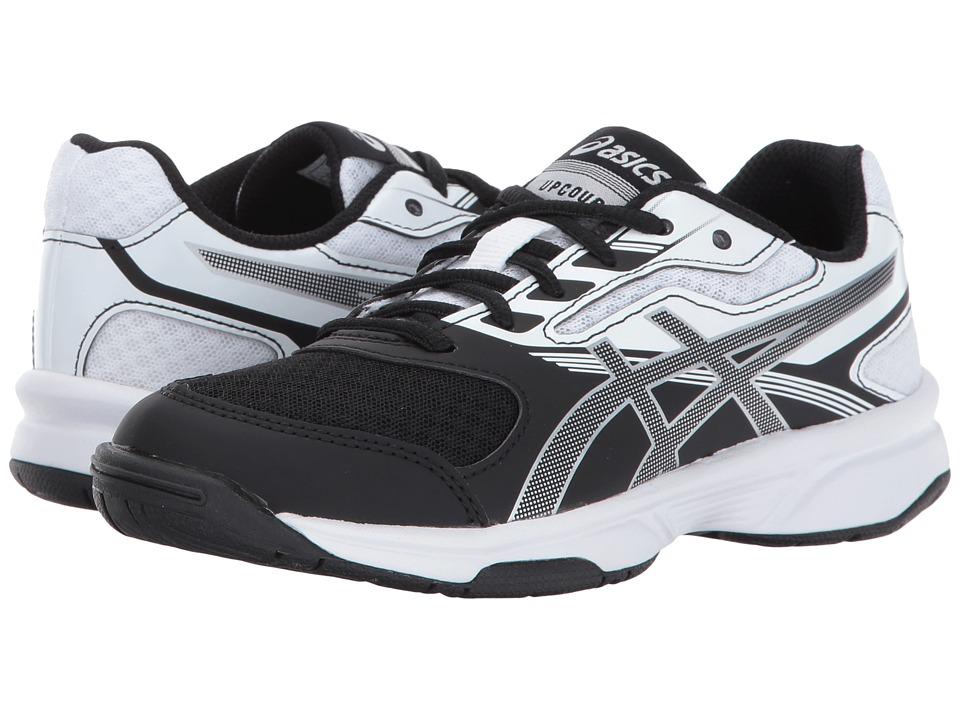 ASICS Kids GEL-Upcourt 2 GS Volleyball (Little Kid/Big Kid) (Black/Silver/White) Kids Shoes