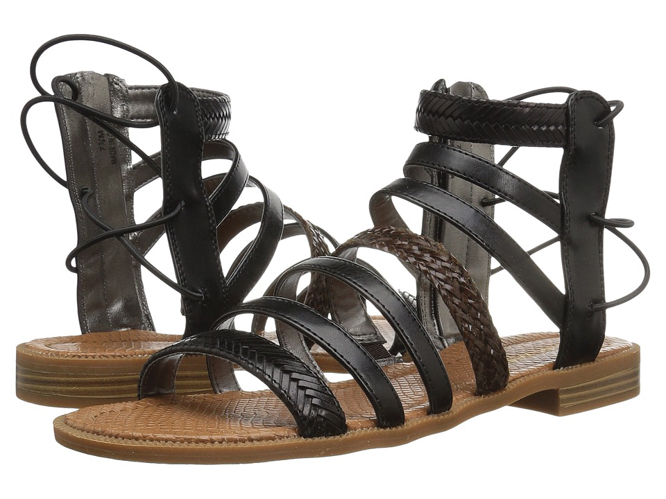 Nine West - Xema 3 (Black Multi Synthetic) Womens Sandals
