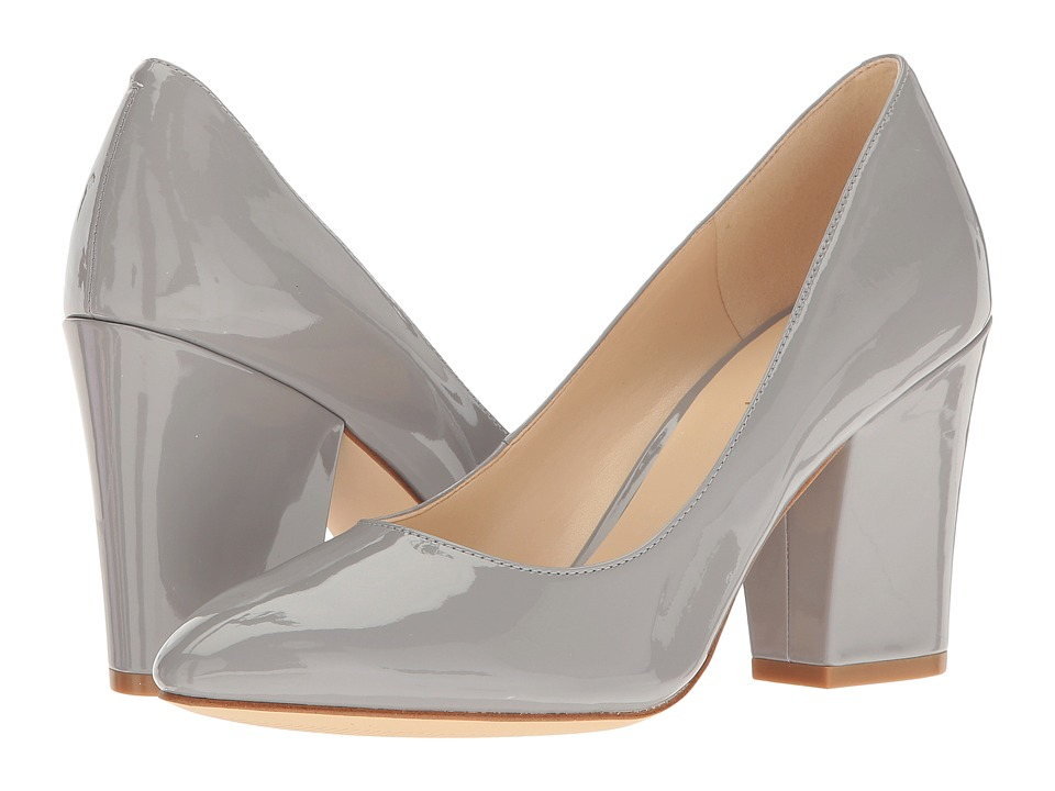 Nine West - Scheila (Grey Patent) High Heels -  adult