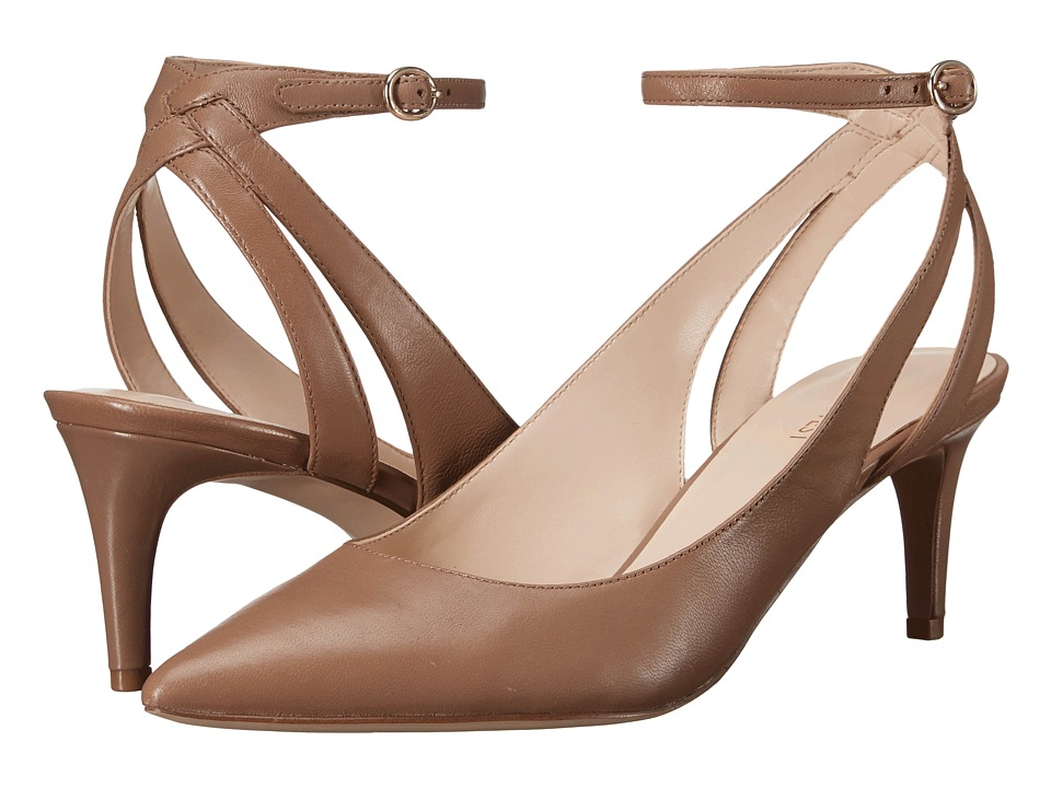 Nine West - Shawn (Natural Leather) High Heels