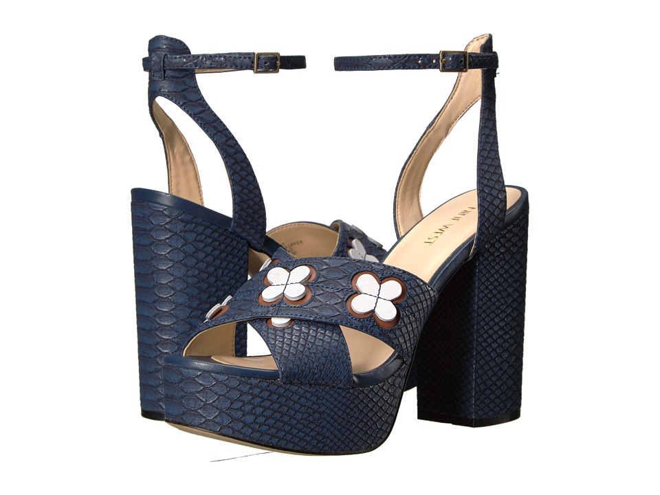 Nine West - Koolkat 3 (Navy Synthetic) Womens Shoes