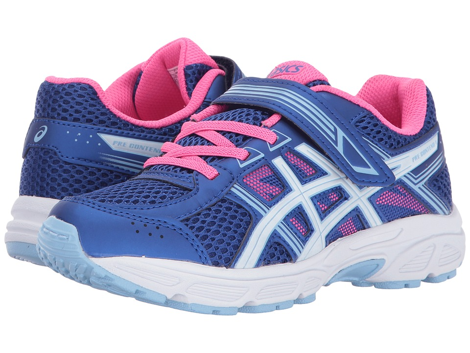 ASICS Kids - GEL-Contend 4 PS (Toddler/Little Kid) (Blue Purple/White/Airy Blue) Girls Shoes