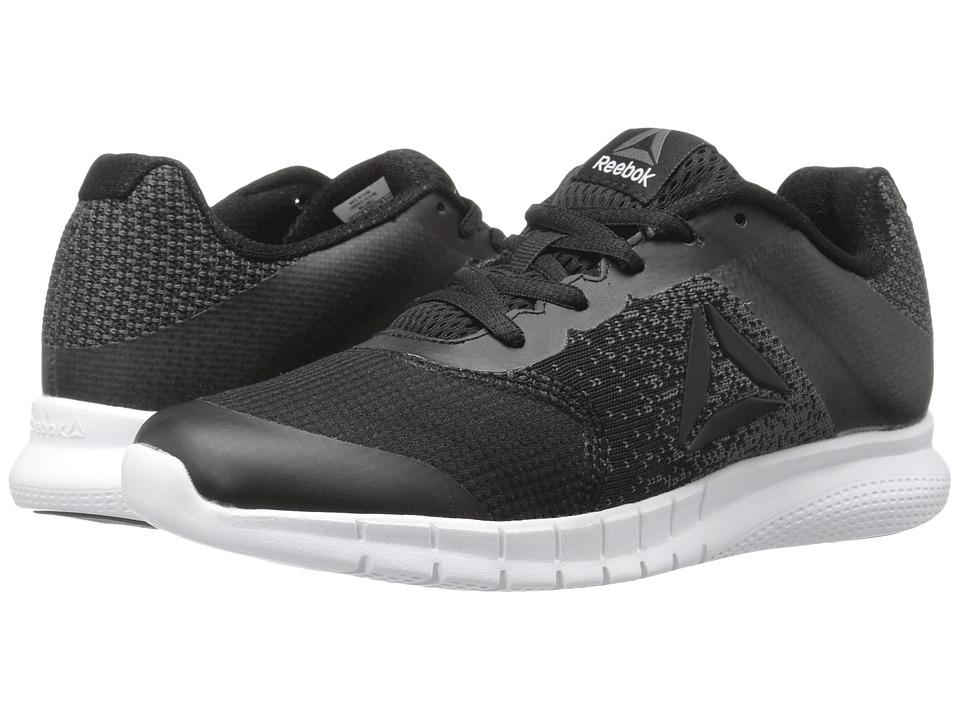 Reebok Kids Instalite Run (Little Kid/Big Kid) (Black/Coal/Pewter) Boys Shoes