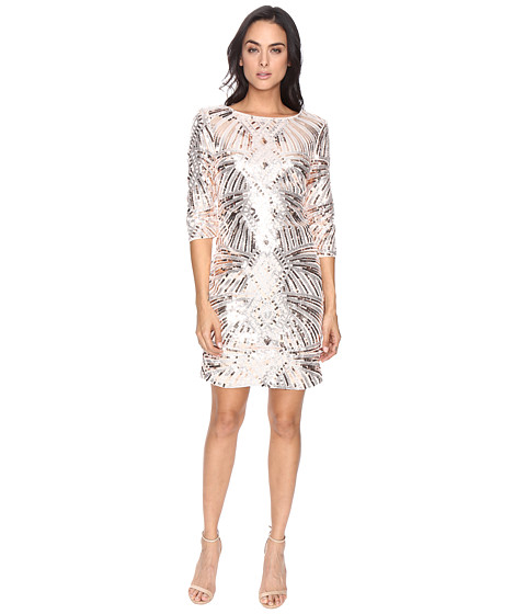 Sangria Sequin Sheath Dress
