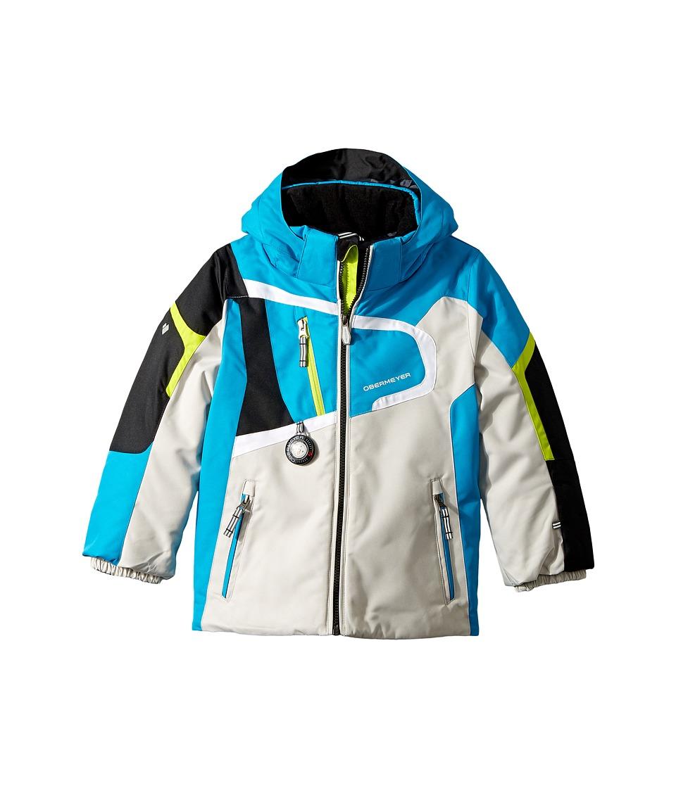 Obermeyer Kids Super G Jacket (Toddler/Little Kids/Big Kids) (Polar Blue) Boy
