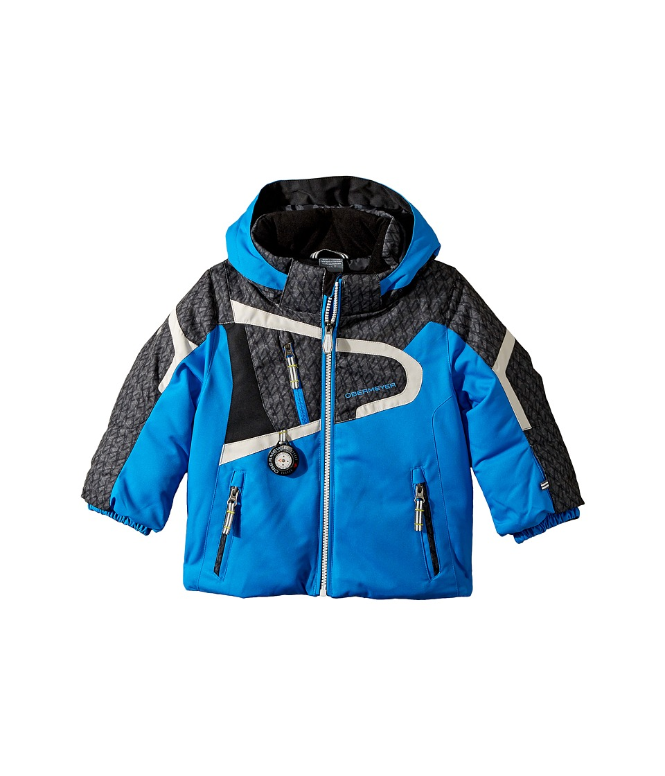 Obermeyer Kids Super G Jacket (Toddler/Little Kids/Big Kids) (Stellar Blue) Boy