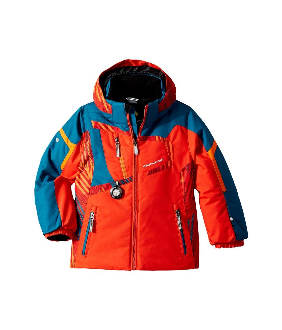 Obermeyer Kids Super G Jacket (Toddler/Little Kids/Big Kids) (Red) Boy