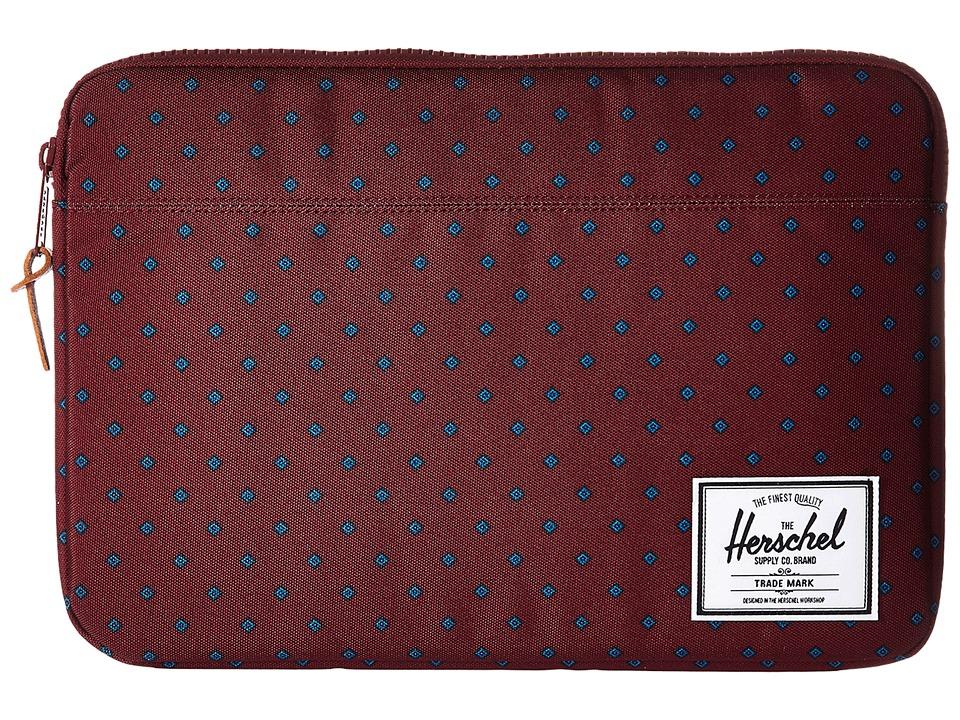 Herschel Supply Co. Anchor Sleeve 13 (University Windsor Wine) Computer Bags