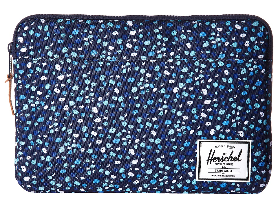 Herschel Supply Co. Anchor Sleeve 13 (Peacoat Mini Floral) Computer Bags