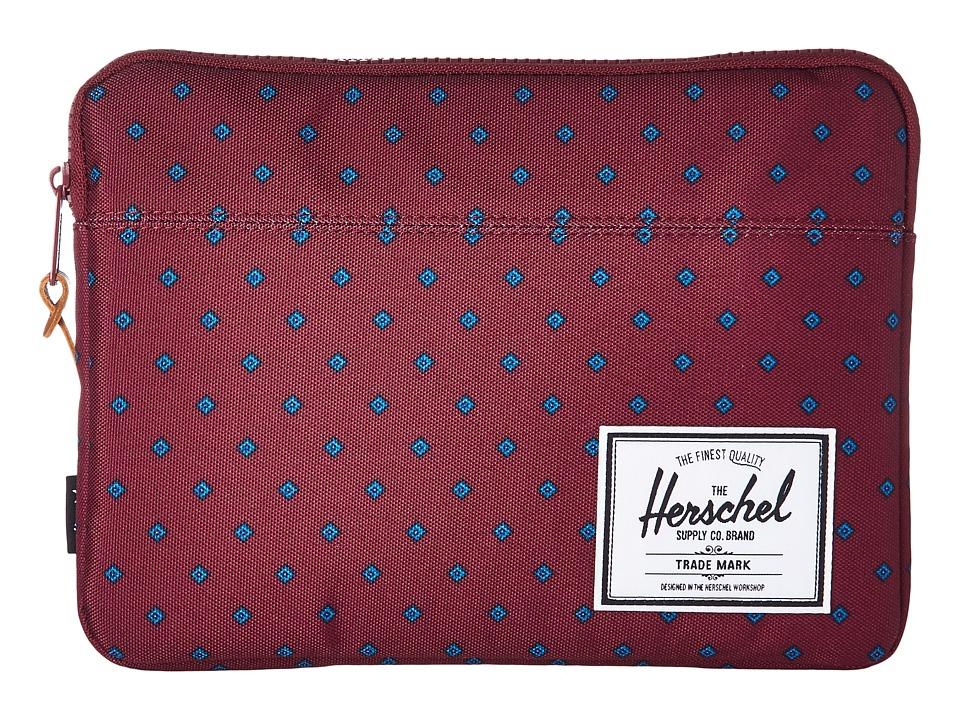 Herschel Supply Co. Anchor Sleeve for iPad Air (University Windsor Wine) Computer Bags