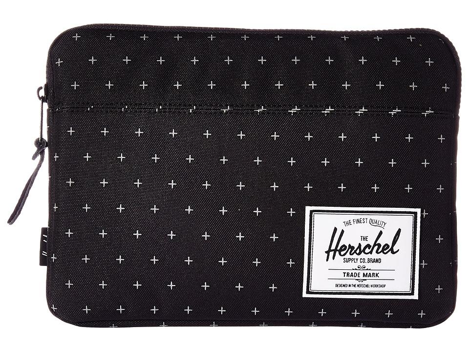 Herschel Supply Co. Anchor Sleeve for iPad Air (Black Gridlock) Computer Bags