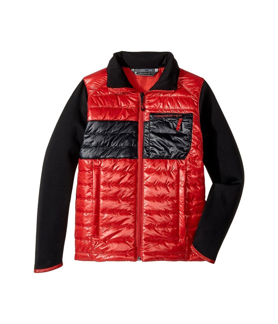 Obermeyer Kids - Rowan Insulator Jacket (Big Kids) (Red) Boys Coat