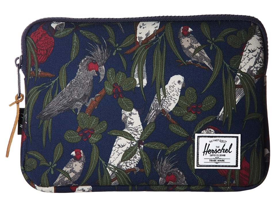 Herschel Supply Co. Anchor Sleeve for iPad Mini (Peacoat Parlour) Computer Bags