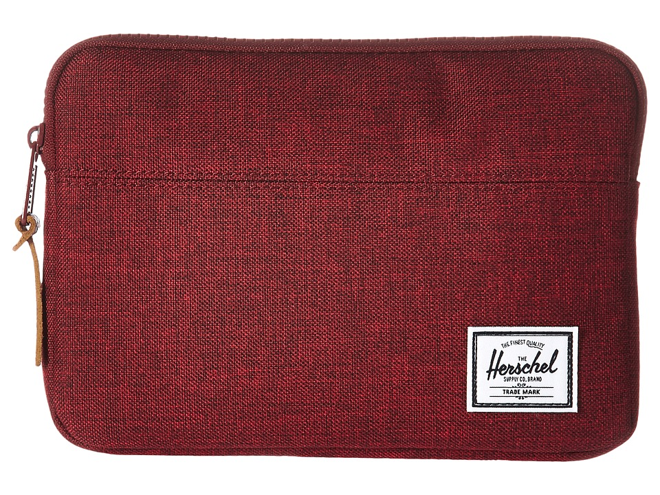 Herschel Supply Co. Anchor Sleeve for iPad Mini (Winetasting Crosshatch) Computer Bags