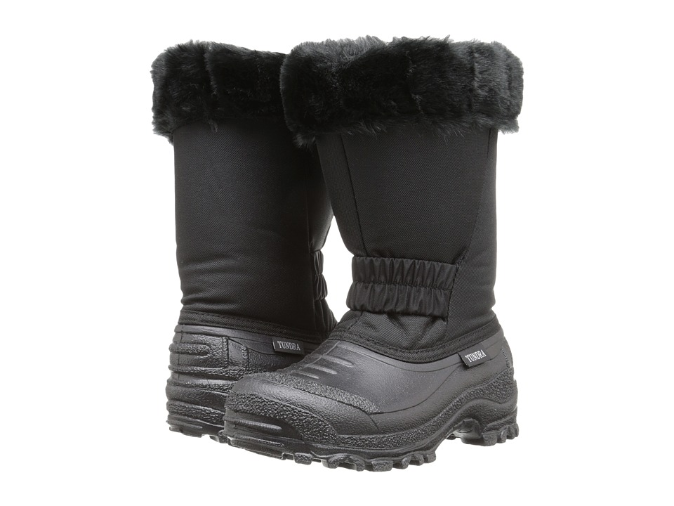 Tundra Boots Kids Glacier Little Kid/Big Kid Black Girls Shoes