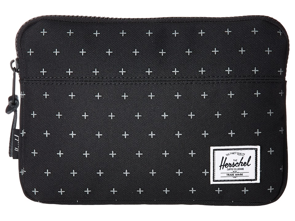 Herschel Supply Co. Anchor Sleeve for iPad Mini (Black Gridlock) Computer Bags