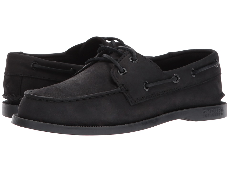 Sperry Kids A/O (Toddler/Little Kid/Big Kid) (Black) Kids Shoes