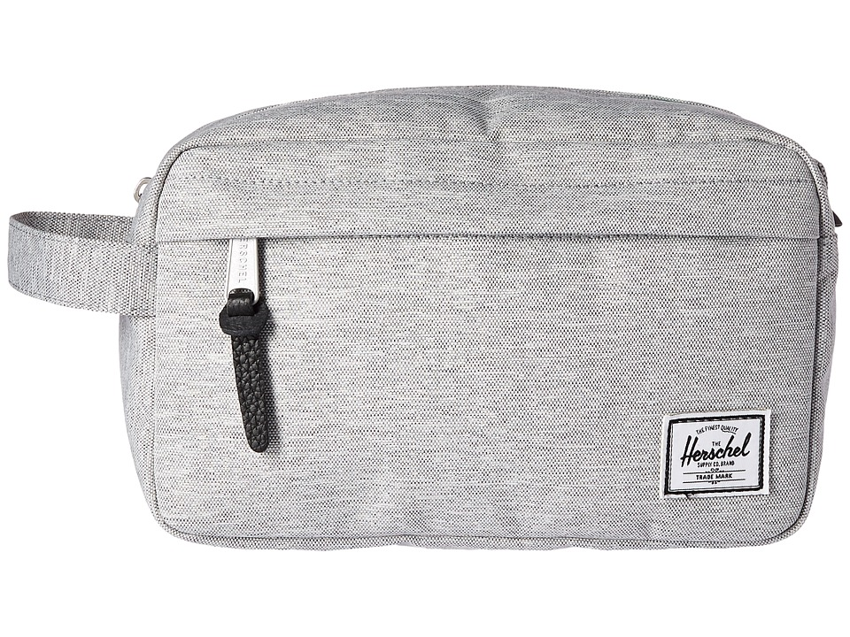 Herschel Supply Co. - Chapter (Light Grey Crosshatch 1) Toiletries Case