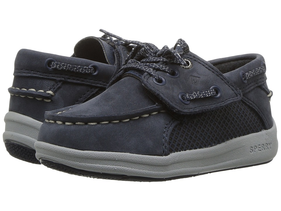Sperry Kids Gamefish Jr. (Toddler/Little Kid) (Navy) Boys Shoes