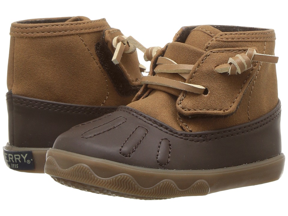 Sperry Kids Icestorm Crib (Infant/Toddler) (Tan/Brown) Boys Shoes