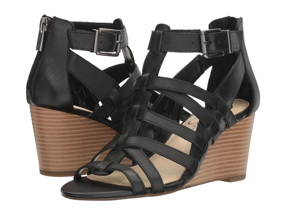 Jessica Simpson Cloe (Black Soft Nappa Silk) Women