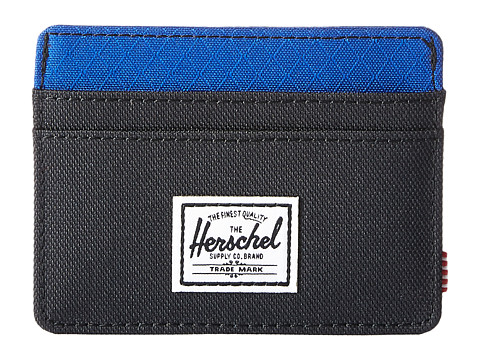 Herschel Supply Co. Charlie RFID - Black/Surf The Web