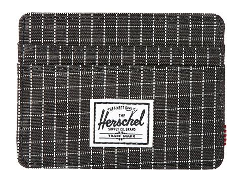 Herschel Supply Co. Charlie RFID - Black Grid