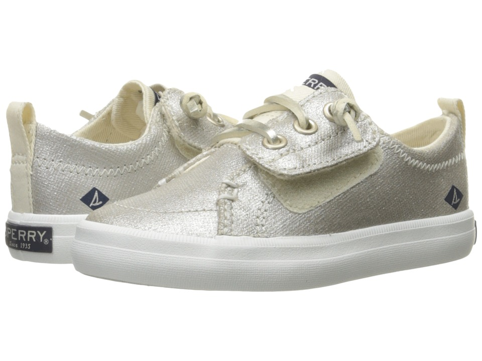 Sperry Kids Crest Vibe Jr. (Toddler/Little Kid) (Metallic) Girls Shoes