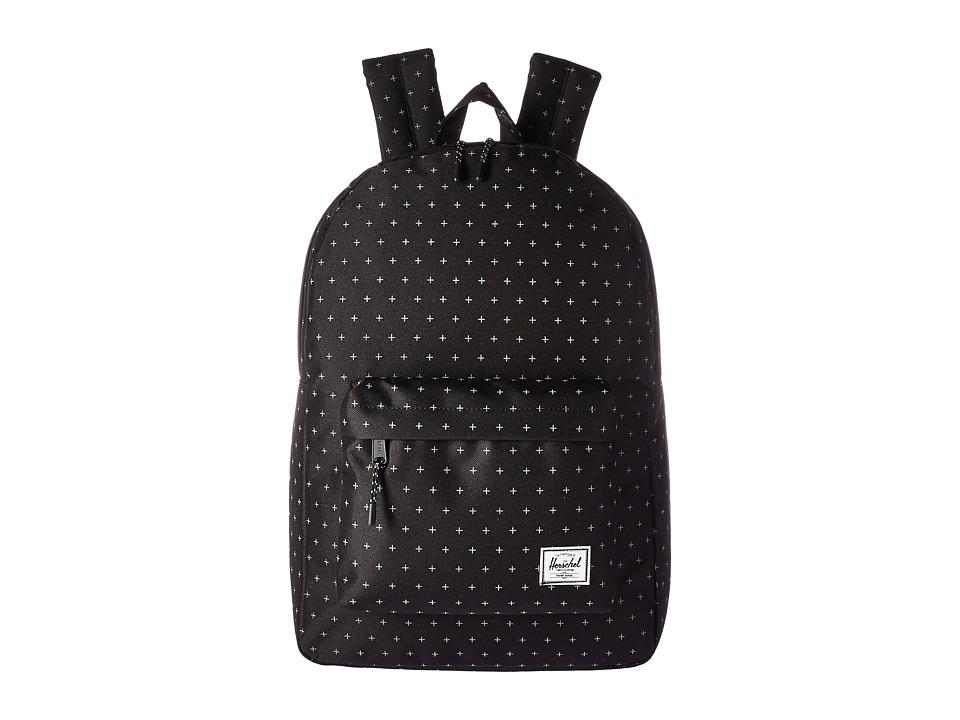 Herschel Supply Co. Classic (Black Gridlock) Backpack Bags