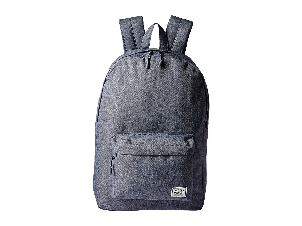 Herschel Supply Co. Classic (Dark Chambray Crosshatch) Backpack Bags