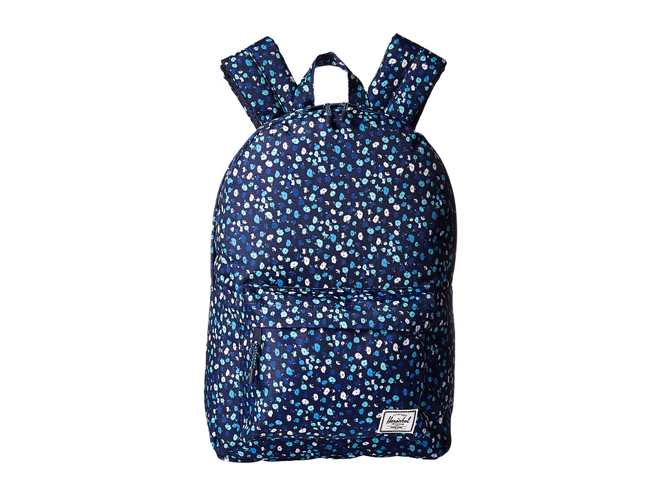 Herschel Supply Co. Classic Mid-Volume (Peacoat Mini Floral) Backpack Bags
