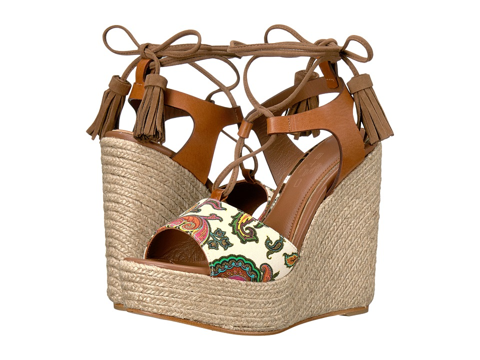Etro Etro - Paisley Wedge Sandal