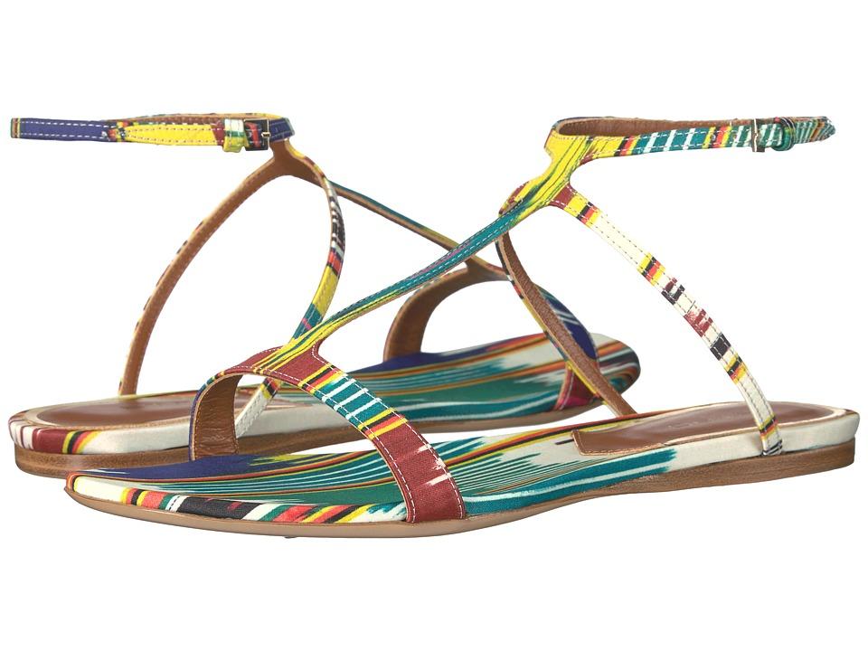 Etro - Ikat Flat Sandal (Multi) Women's Sandals