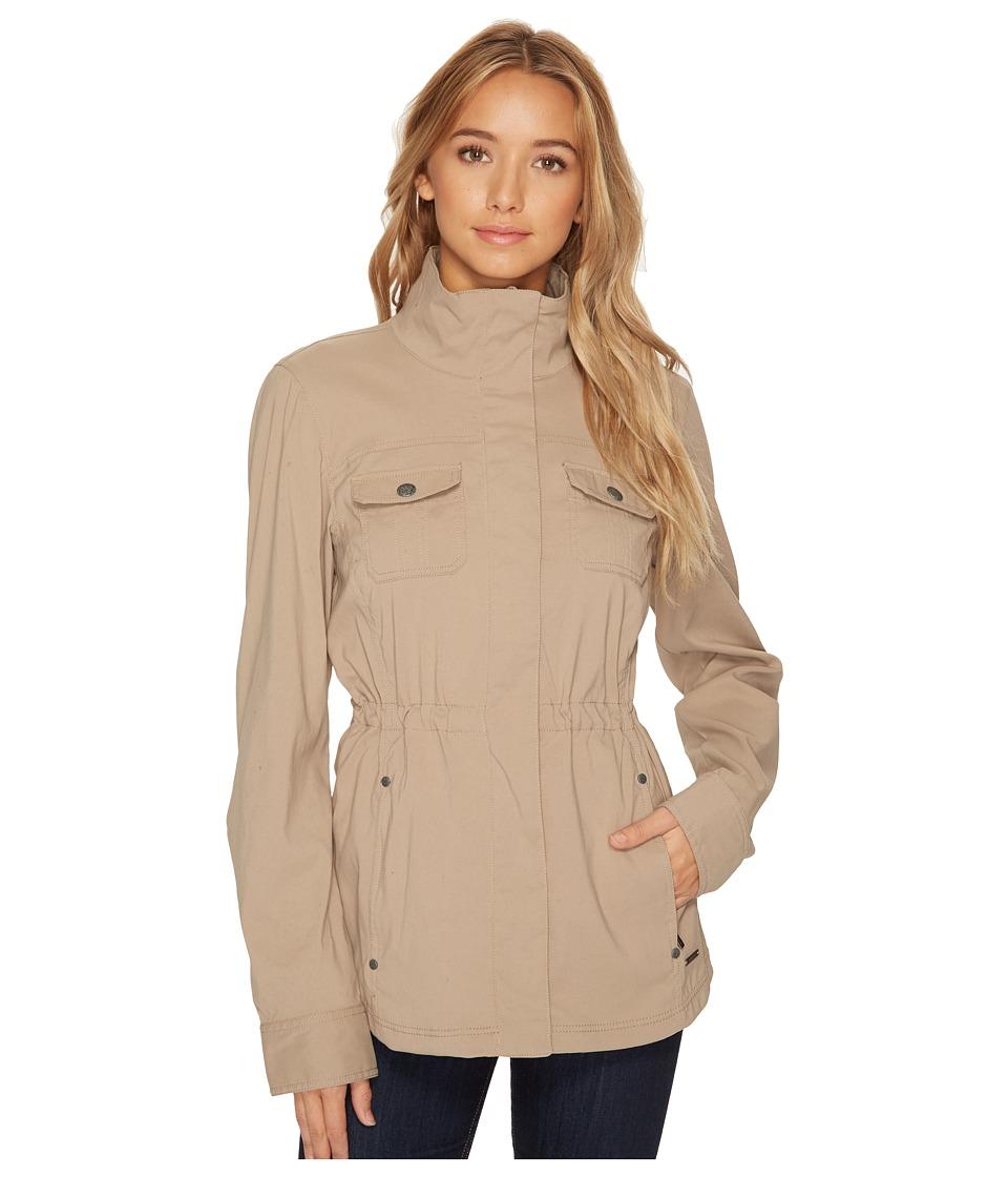 PRANA Halle Jacket (Dark Khaki) Women's Coat