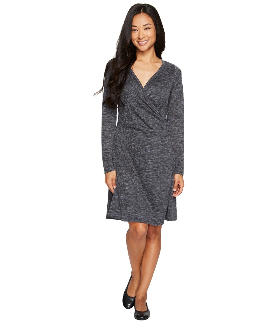 Prana Nadia Long Sleeve Dress (Deep Balsam) Women